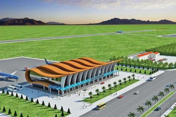 Bình Thuận: Khảo sát vị trí dự kiến khởi công lại sân bay Phan Thiết