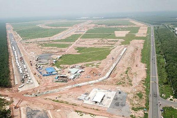Thu tiền sử dụng đất khu tái định cư sân bay Long Thành
