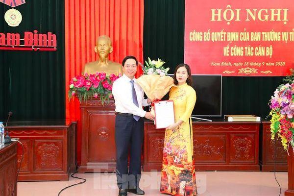 Nam Định, Hà Nam, Quảng Trị bổ nhiệm nhân sự, lãnh đạo mới