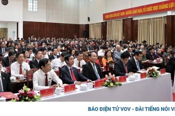 Quảng Nam vẫn còn tình trạng nhân sự tái cử không trúng cấp ủy