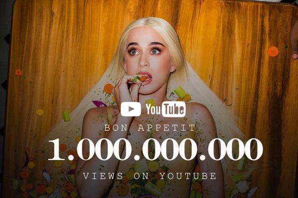 Bon Appetit cán mốc 1 tỷ view: Katy Perry sánh vai cùng cô-bạn-thân Taylor Swift và Sia
