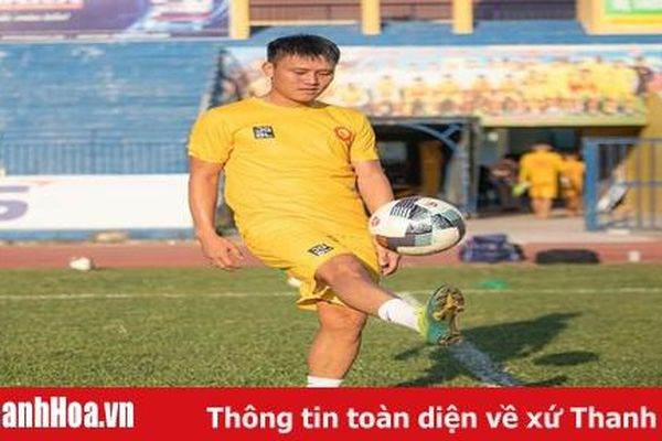 Tiền đạo Nguyễn Đình Bảo chia tay CLB Thanh Hóa