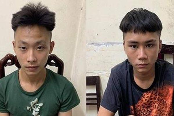 Hai tên cướp 'nhí' gây ra 4 vụ cướp tài sản trong một đêm