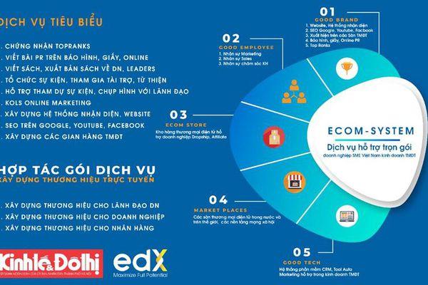 Báo Kinh tế & Đô thị cùng Tập đoàn edX thảo luận về cung cấp dịch vụ trọn gói cho doanh nghiệp