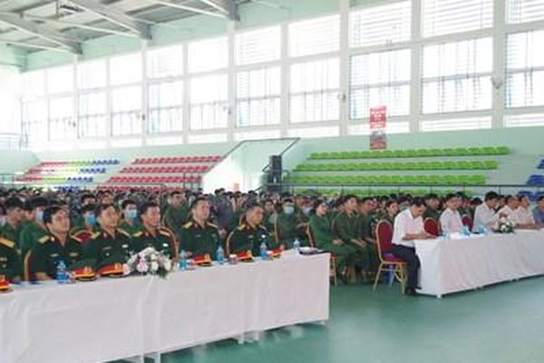 Khai giảng Khóa học giáo dục quốc phòng, an ninh