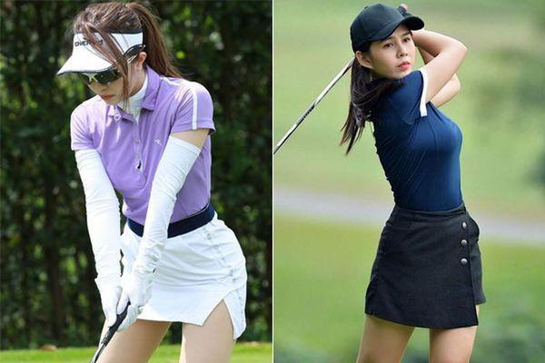 Dàn mỹ nhân Việt khoe trọn body nuột nà trên sân golf