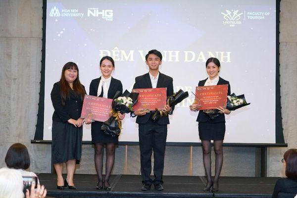 Sinh viên Trường ĐH Hoa Sen đoạt giải Nhất I-Hotelier 2020