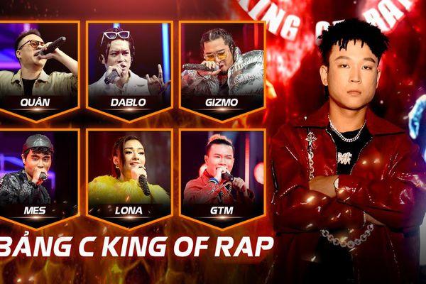 Lil'Shady cầm trịch bảng C King Of Rap: Dablo - Mes - Gizmo - Lona - GTM - Ngắn sẵn sàng 'khai hỏa'
