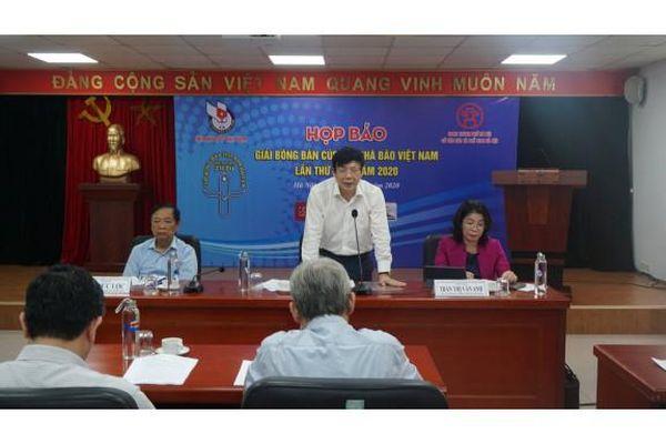 Họp Ban chỉ đạo Giải bóng bàn cúp Hội Nhà báo Việt Nam lần thứ XIV - năm 2020