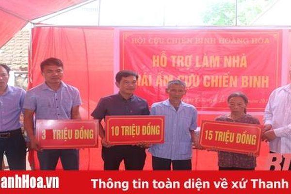 Trao tiền hỗ trợ làm nhà cho cựu chiến binh Trần Bá Tục