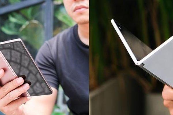 Samsung Galaxy Z Fold2 vs. Microsoft Surface Duo: Cuộc chiến giữa hai gã smartphone dị biệt