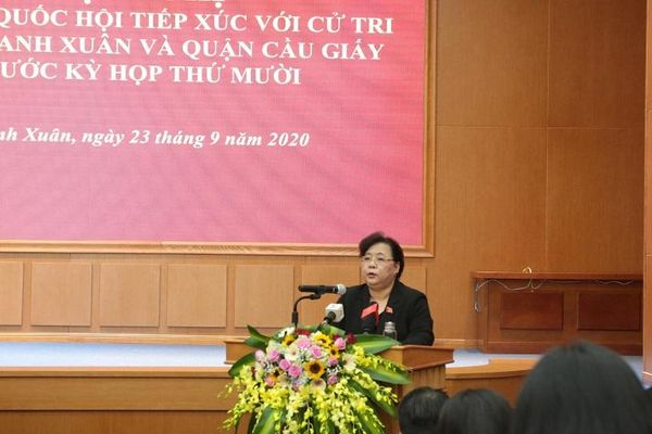 Phó Trưởng đoàn đại biểu Quốc hội TP Nguyễn Thị Bích Ngọc: Cần quản lý đất đai tại Hà Nội thống nhất theo luật nhưng đảm bảo tính đặc thù