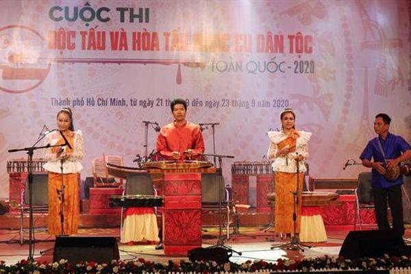 Thi 'Độc tấu và Hòa tấu nhạc cụ dân tộc toàn quốc 2020': Phô diễn tinh hoa âm nhạc truyền thống