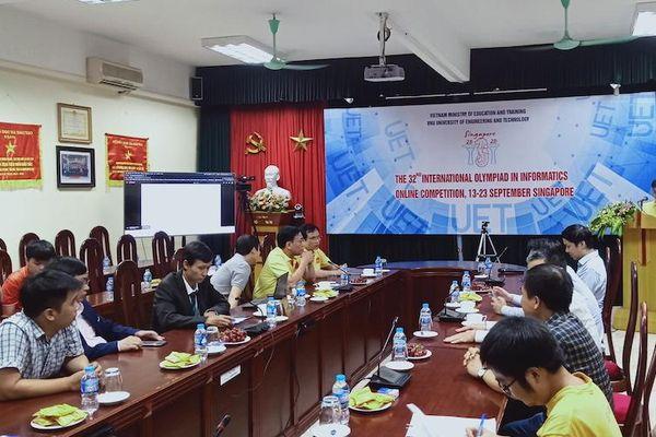 Việt Nam đoạt Huy chương Vàng Olympic Tin học quốc tế