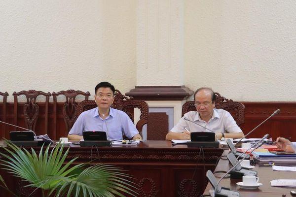Chuẩn bị chu đáo Hội thảo quốc gia tư tưởng Hồ Chí Minh về Nhà nước và pháp luật