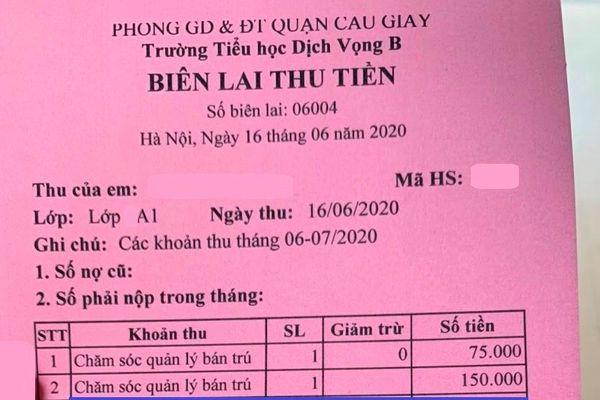 Phụ huynh Hà Nội mất 20 tỷ đồng/tháng tiền sổ liên lạc điện tử