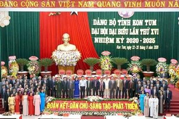 Đồng chí Dương Văn Trang tái đắc cử Bí thư Tỉnh ủy Kon Tum
