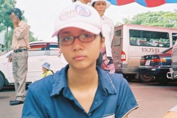 Hình ảnh Suboi năm 17 tuổi