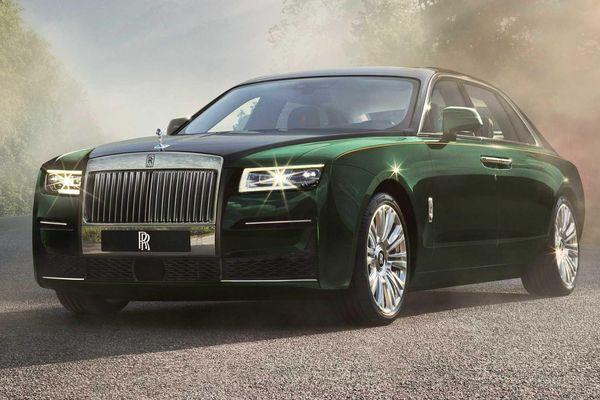 Rolls-Royce Ghost 2021 phiên bản kéo dài trục cơ sở được ra mắt