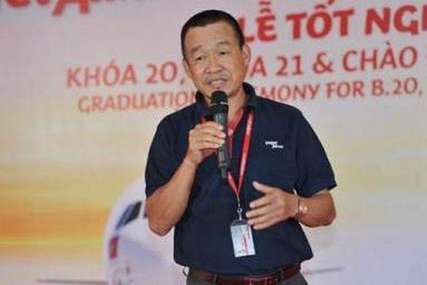 Ông Lưu Đức Khánh thôi làm Giám đốc điều hành Vietjet