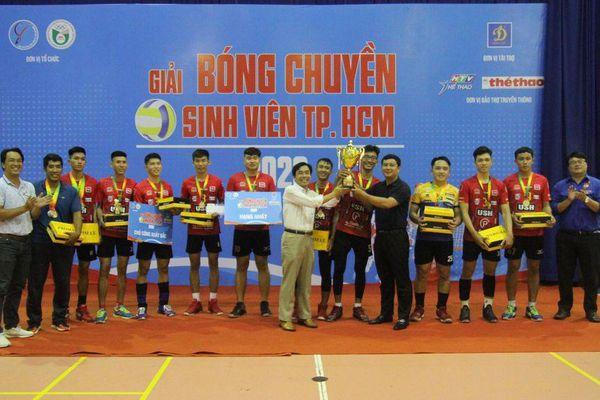 Tìm ra đội Quán quân 'Giải bóng chuyền sinh viên TP.HCM 2020'
