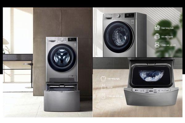 LG Việt Nam ra mắt máy giặt công nghệ AI - Tương lai của công nghệ giặt giũ, giá từ 11,5 triệu