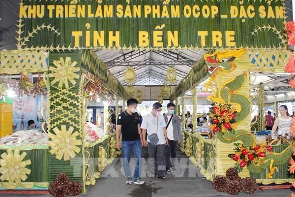 Bến Tre 'chào hàng' các đặc sản tại Tp. Hồ Chí Minh