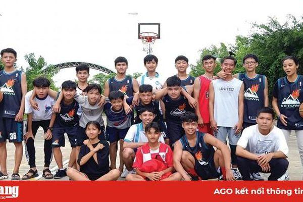 Quan tâm phát triển bộ môn bóng rổ