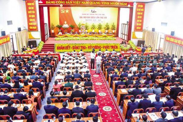 Khai mạc Đại hội đại biểu Đảng bộ TP Cần Thơ lần thứ XIV, nhiệm kỳ 2020 - 2025