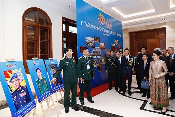 Khai mạc Hội nghị trực tuyến Tư lệnh Lực lượng Quốc phòng ASEAN