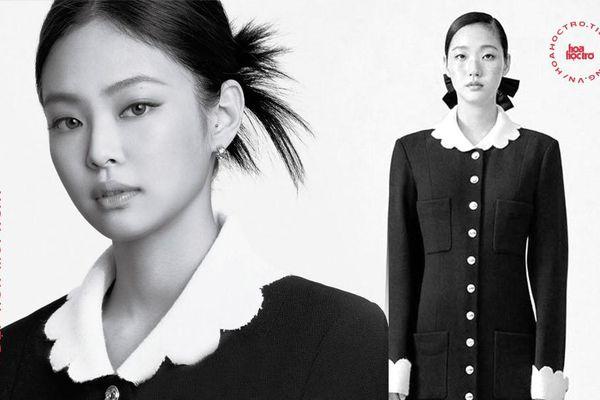 Hai đại sứ Chanel đụng hàng, Jennie (BLACKPINK) 'tạm dẫn trước' Kim Go Eun về thần thái