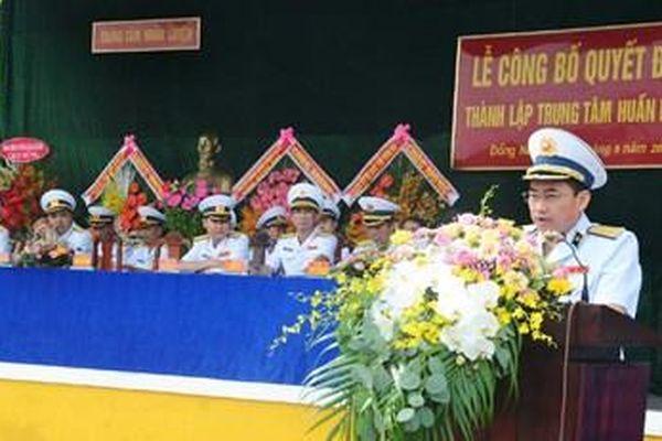 Thành lập Trung tâm Huấn luyện thuộc Bộ tư lệnh Vùng 2 Hải quân