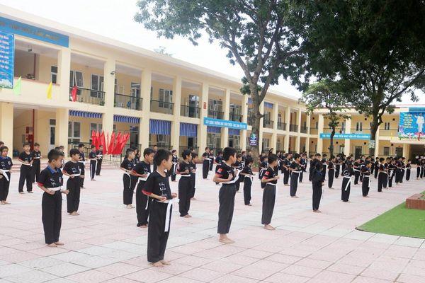 Giảm áp lực sĩ số HS/lớp tại Hà Nội: Đồng bộ nhiều giải pháp