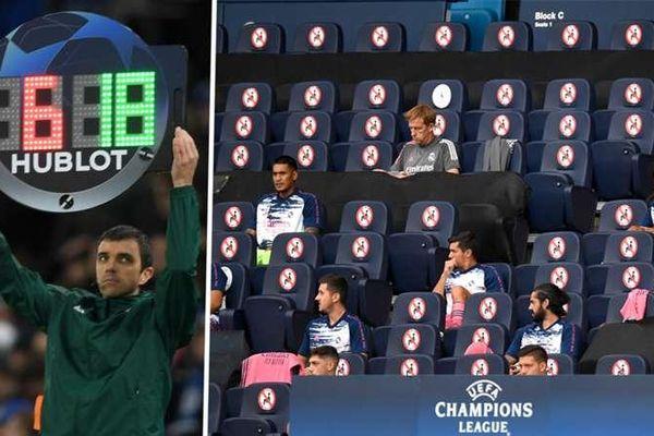 Sẽ có 5 lần thay đổi người mỗi trận ở Champions League và Europa League