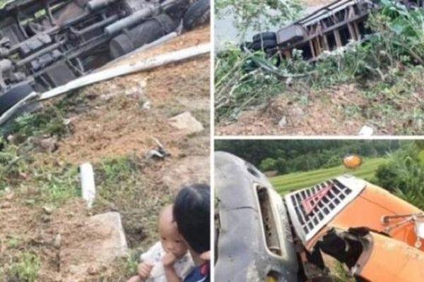 Tin giao thông sáng 25/9: Liên tiếp tai nạn xe container khiến 4 người bị thương