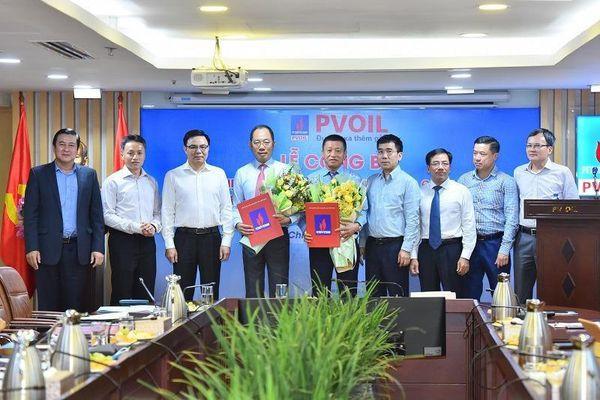 Ông Cao Hoài Dương làm Chủ tịch Tổng công ty Dầu Việt Nam