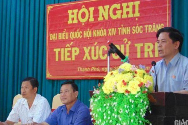 Bộ trưởng Nguyễn Văn Thể: Sóc Trăng sẽ hưởng lợi lớn khi có cảng Trần Đề