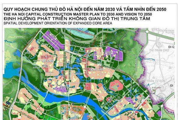 Hà Nội phấn đấu cơ bản phủ kín quy hoạch