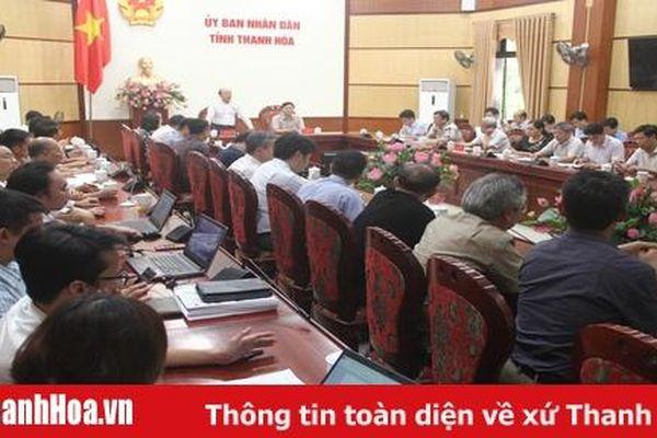 Đoàn công tác Bộ Giao thông - Vận tải làm việc về Quy hoạch phát triển cảng biển, cảng cạn khu vực tỉnh Thanh Hóa