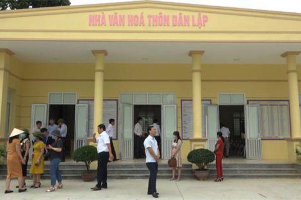 Huyện Thạch Thất đầu tư 10,5 tỷ đồng xây dựng 2 nhà văn hóa thôn