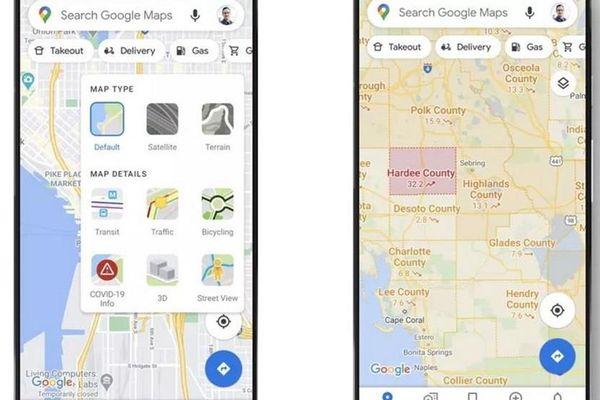 Google Maps thêm tính năng cập nhật bệnh Covid-19