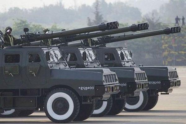'Vũ khí made in China' nổi bật trong biên chế quân đội Myanmar