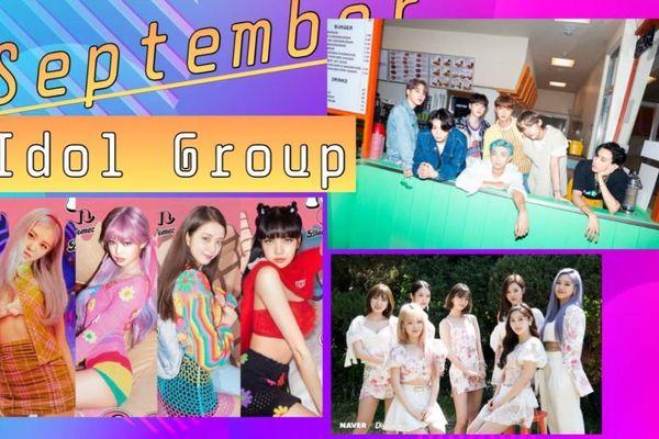 BXH thương hiệu nhóm nhạc tháng 9: BTS, BlackPink giữ vững ngôi vương, RedVelvet tụt hạng không phanh