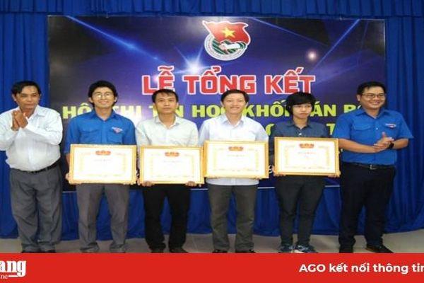 Trao 31 giải thưởng tại Hội thi Tin học khối cán bộ, công chức, viên chức trẻ cấp tỉnh