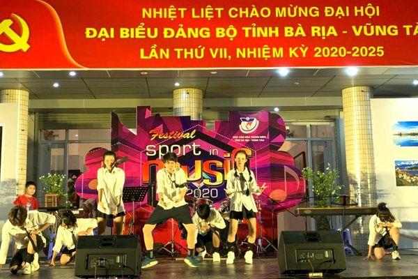 Đêm nhạc 'Festival sport in Music'