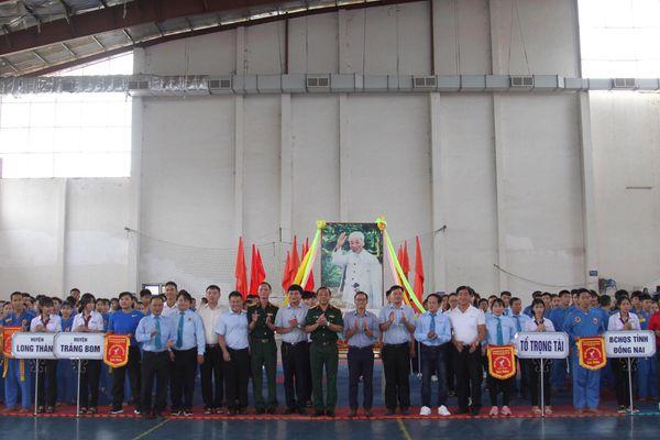 11 đơn vị tham dự Giải trẻ và vô địch vovinam tỉnh Đồng Nai