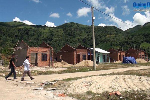Đẩy nhanh tiến độ xây dựng khu TĐC Nà Kpác trước mùa mưa bão