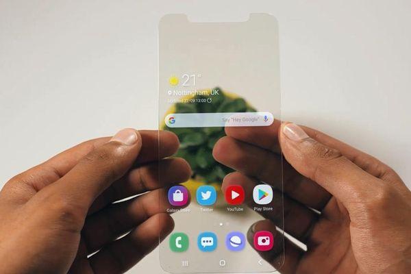 Ý tưởng điện thoại trong suốt của Samsung liệu có thành công?