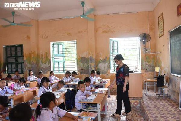 Trường tiểu học ở Hải Phòng xuống cấp trầm trọng
