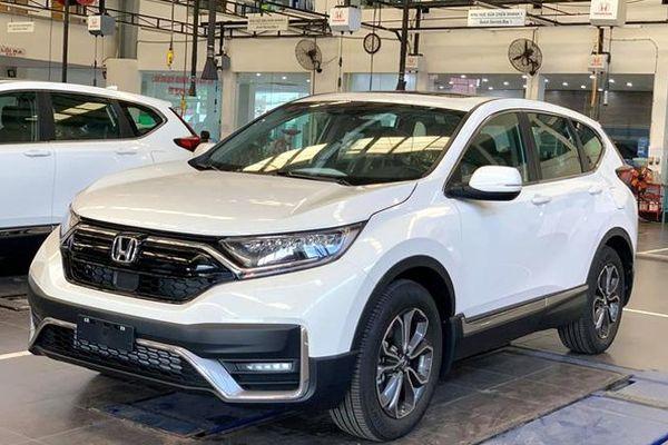 Giá xe ô tô hôm nay 27/9: Honda CR-V có giá thấp nhất ở mức 998 triệu đồng